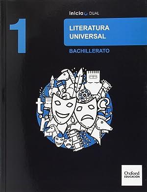 Literatura Universal 1.º Bachillerato Inicia Dual. Libro del: Vv.Aa.