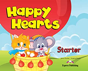 13).happy hearts starter (3 aÑos).pupils pack+cd: Aavv