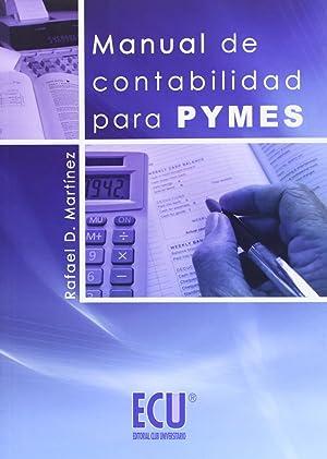 Manual de Contabilidad para Pymes: Martínez Carrasco, Rafael