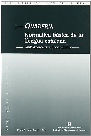 Quadern: Castellanos i Vila,