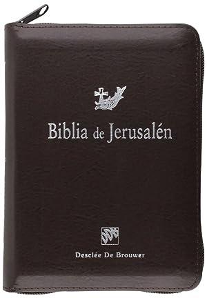 b7ffee70708 9788433027269  Biblia De Jerusalen Bol. Mod 3 Cremallera (Biblia de ...