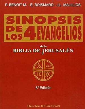 sinopsis de los cuatro evangelios-t.1. textos: Vv.Aa.