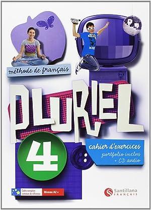 12).pluriel 4º.eso (cahier).(+cd) frances ejercicios: Varios autores