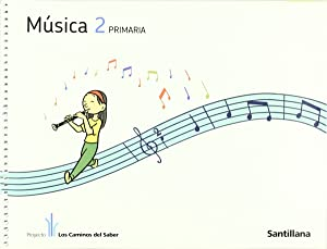 11).musica 2º.primaria (+cd) caminos saber: Varios autores