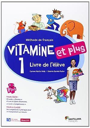 14).vitamine et plus 1 (eleve+cd) 5º.frances primaria: Vv.Aa