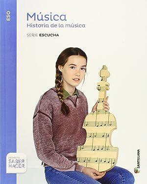 15).musica 3ºeso (+cd) (saber hacer): Vv.Aa