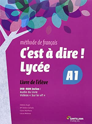 fra).(15).c'est a dire lycee a1.(eleve +dvd): Vv.Aa