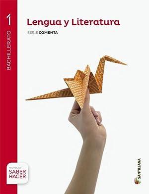 Lengua y literatura castellana 1 bachillerato sab: Vv.Aa