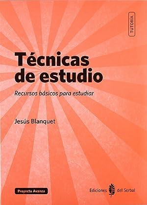 TECNICAS DE ESTUDIO.RECURSOS BASICOS PARA ESTUDIAR.(TUTORIA Recursos básicos para estudiar: ...
