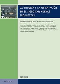 Tutoria y orientacion en siglo xxi :nuevas: Gallego, Sofia, Riart,