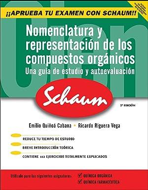 Nomenclatura y representación de los compuestos orgánicos: Quíñoá Cabana Emilio/...