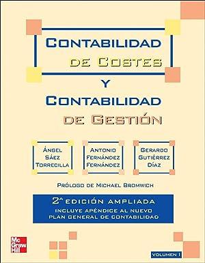 Contabilidad de costes y contabilidad de gestion.: Sáez
