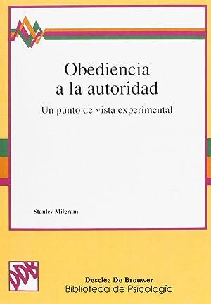 Obediencia a la autoridad: Milgram, Stanley