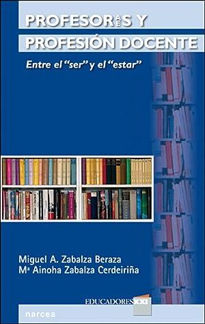 """Profesores y profesión docente Entre el """"ser"""" y el """"estar"""": Zabalza ..."""