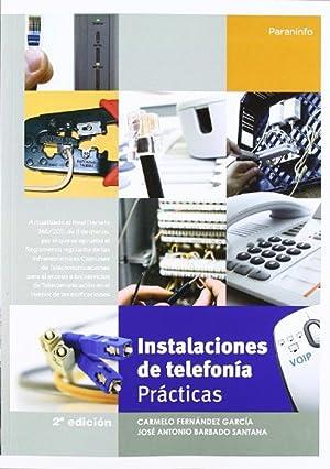 Instalaciones de telefonía. Prácticas: Vv.Aa