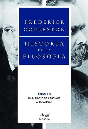 Historia de la filosofía III De la: Frederick Copleston
