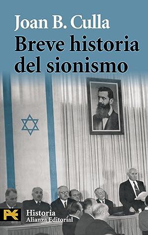 Breve historia del sionismo: Culla, Joan B.
