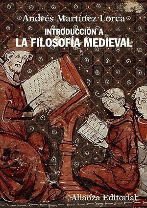 Introduccion a la filosofia medieval.(libro de bolsillo): Martínez Lorca, Andrés