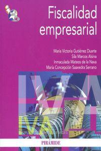 Fiscalidad empresarial.(economia y empresa): Gutierrez, M.ª Victoria