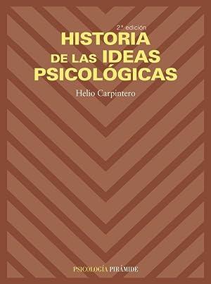 Historia ideas psicologicas.(psicologia): Carpintero Capel, Helio