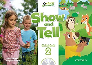 Show and tell 2.(4 aÑos).coursebook+multiroom (pack): Pritchard, Gabby