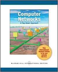 Computer Networks: A Top Down Approach: Forouzan