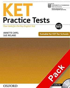 Ket practice tests.(wb+key+cd) pack: Capel, Annette