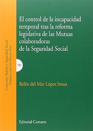 Control incapacidad temporal tras la reforma de: López Insua, Belén