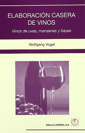 ElaboraciÓn casera de vinos vinos de uvas,: Vv.Aa.