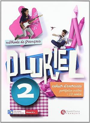 12).pluriel 2º.eso (cahier).(+cd) frances ejercicios: Varios autores