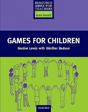 rbt).games for children (resource books for teachers): Lewis, Gordon