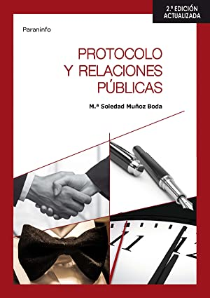 16).(g.s).protocolo y relaciones publicas.(hosteleria 2aed: Muñoz Boda, María Soledad