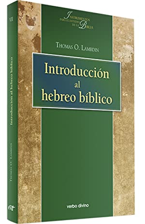 Introduccion al hebreo biblico