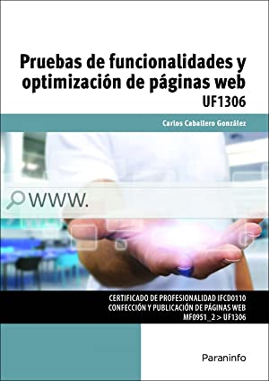 Pruebas funcionalidades y optimización de paginas web: Caballero González, Carlos