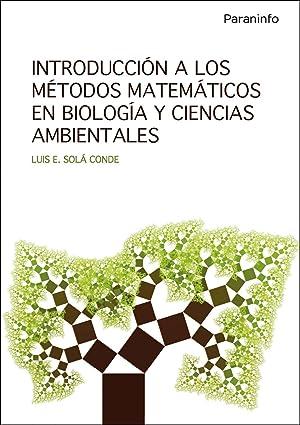 Introducción a los métodos matemáticos en biología y ciencias ...