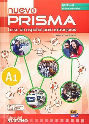 Nuevo prisma A1 +cd. Edición ampliada: Vv.Aa