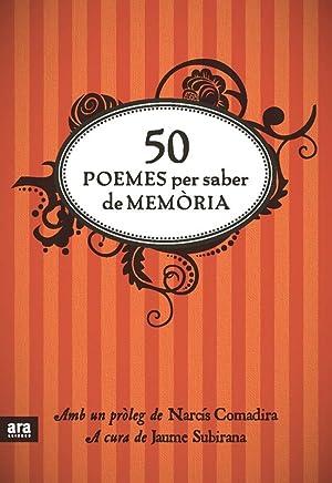 50 poemes per saber de memòria: Subirana, Jaume