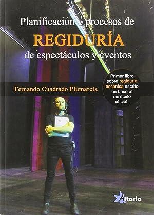 PlanificaciÓn y procesos regiduria espectaculos: Cuadrafo, Fernando