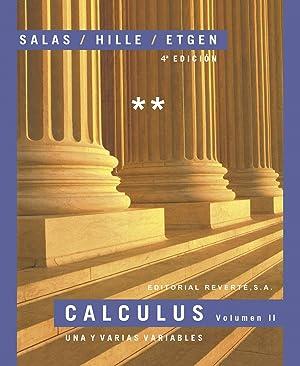Calculus. volumen ii una y varias variables: Vv.Aa