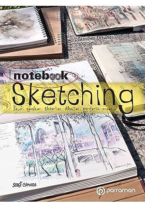 Notebook sketching salir, caminar, observar, dibujar, perderse, crear.: Camara, Sergi