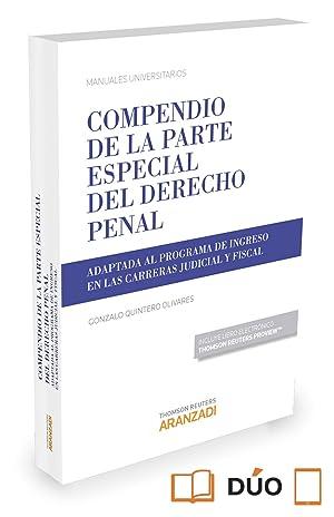 Compendio de la parte especial del derecho penal: Quintero Olivares, Gonzálo