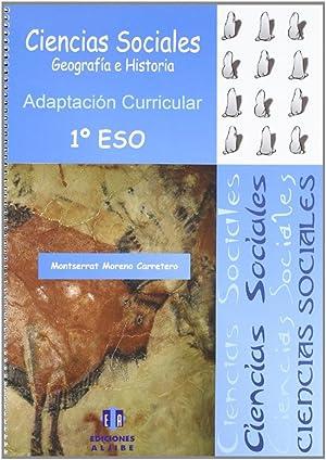 Ciencias Sociales 1.ESO: Moreno Carretero, Montserrat