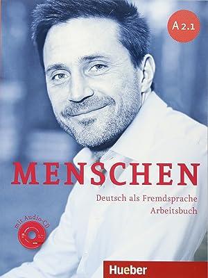 13).menschen a2.1 arbeitsbuch (ejercicios) + audio cd: Aa.Vv.