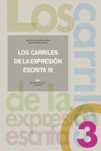 03).carriles de expresion escrita 3.: García Castro, Juan