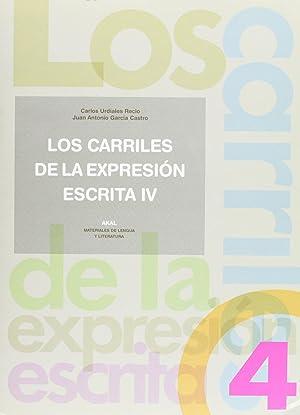 03).carriles de expresion escrita 4.: García Castro, Juan