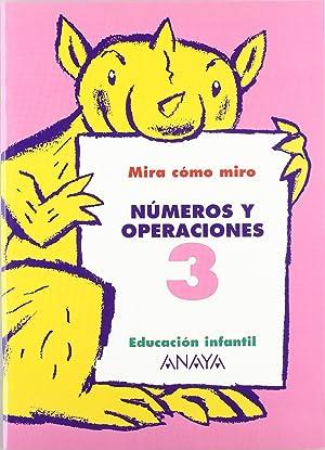 Cuad.numeros y operaciones 3.(monigotes): Fuentes Zaragoza, María