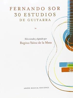 30 estudios de guitarra: Sor, Fernando