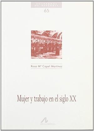 Mujer y trabajo en el siglo XX: Cape Martínez, Rosa