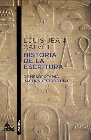 Historia de la escritura: Calvet, Louis-Jean