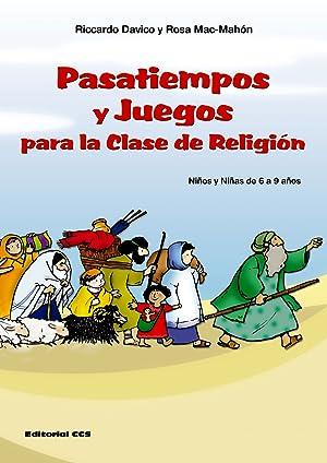 Pasatiempos Y Juegos Para La Clase De Religión Niños Y Niñas De 6 9